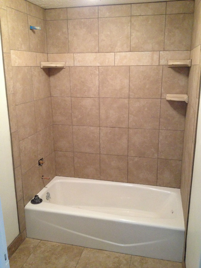 Summer remodel 2013 - Tile shower surround ideas ...